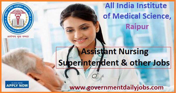 AIIMS Raipur Recruitment 2018 Accounts, Nursing, Attendant, MO Jobs