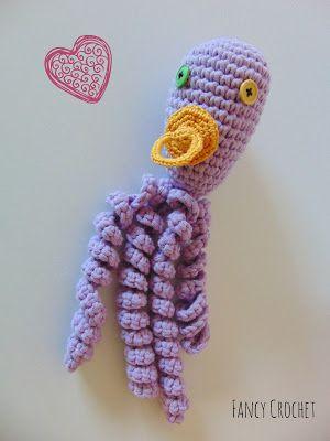 Il polipo amico, schema gratuito by Fancy Crochet