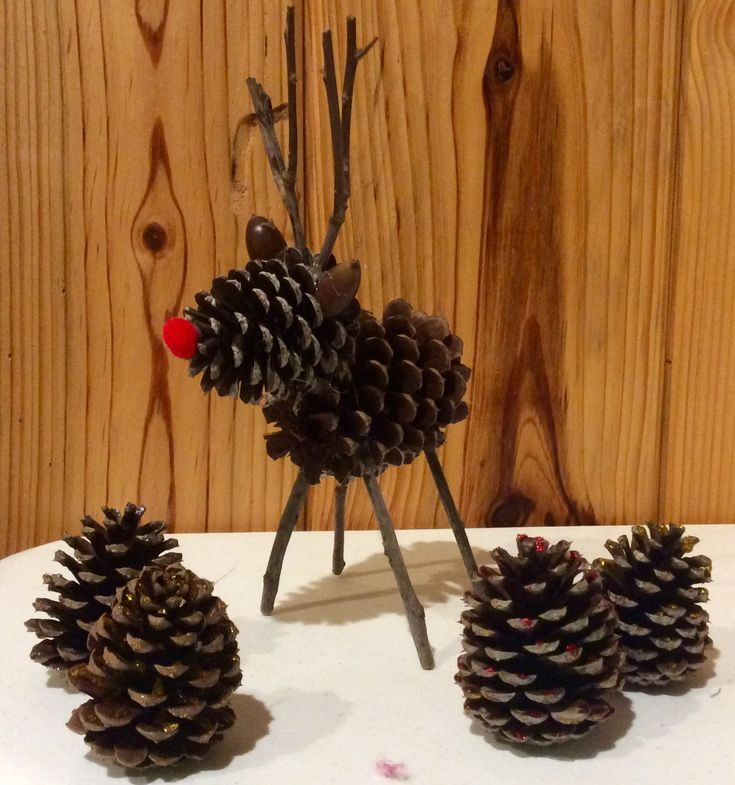 Best 25 pinecone christmas crafts ideas on pinterest for Pine cone christmas tree craft
