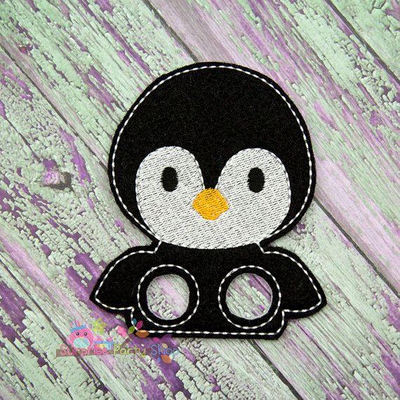 Penguin Finger Puppet Imaginative Play Baby by SurprisePartyShop