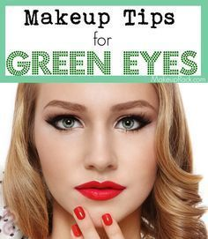 Check out these makeup tips for green eyes. Beauty.com has the best products for Green Eyed Girls.