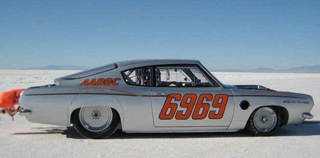 Nelson Racing Engines - Cuda Bonneville Racer