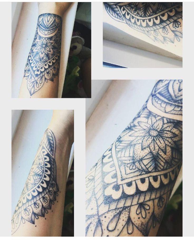 https://instagram.com/p/BJk-KXTDimM/ #wrist #tattoo #mandala @missalekahm