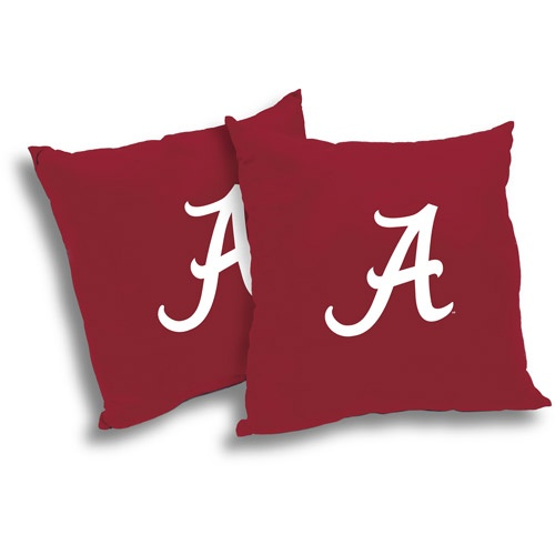 NCAA Alabama Crimson Tide Pillow Set, 2pk