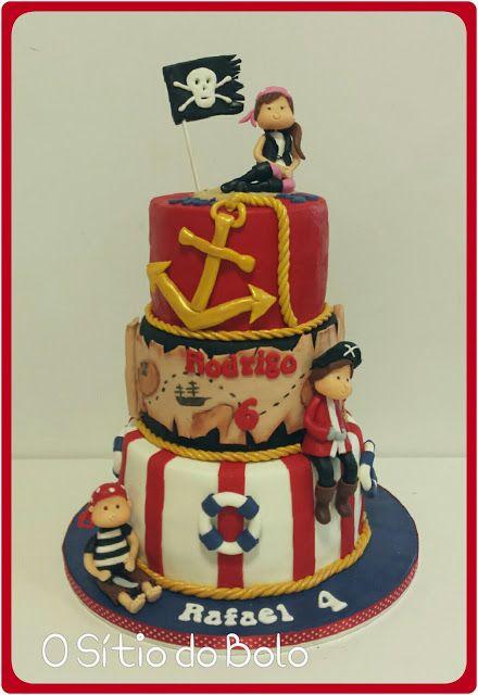 O sitio do bolo: Piratas no bolo do Rafael