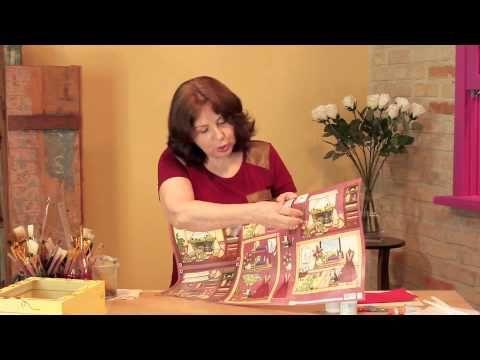 Arte Francesa - Caixa Costura - YouTube
