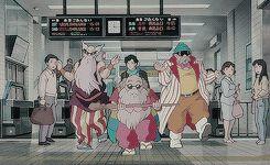 """ movies list : Pom Poko (1994 - Dir. Isao Takahata) ""Where can the raccoons go…"