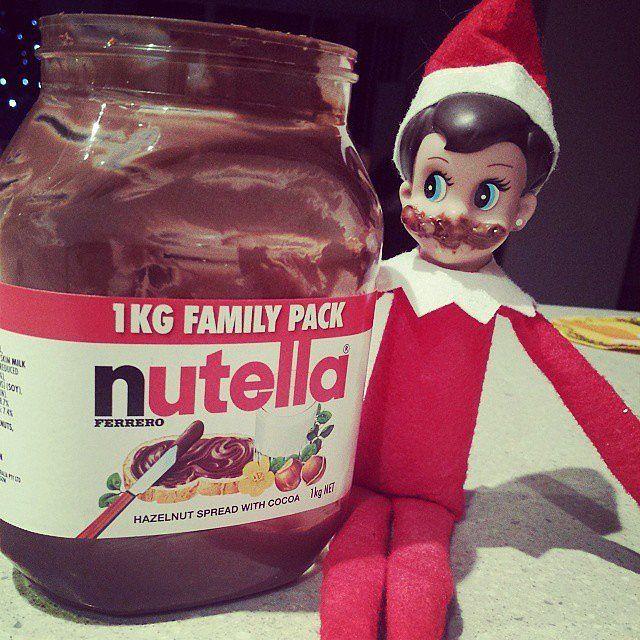 Easy Elf on the Shelf Ideas | POPSUGAR Moms#photo-36266295#photo-36266295#photo-36266295