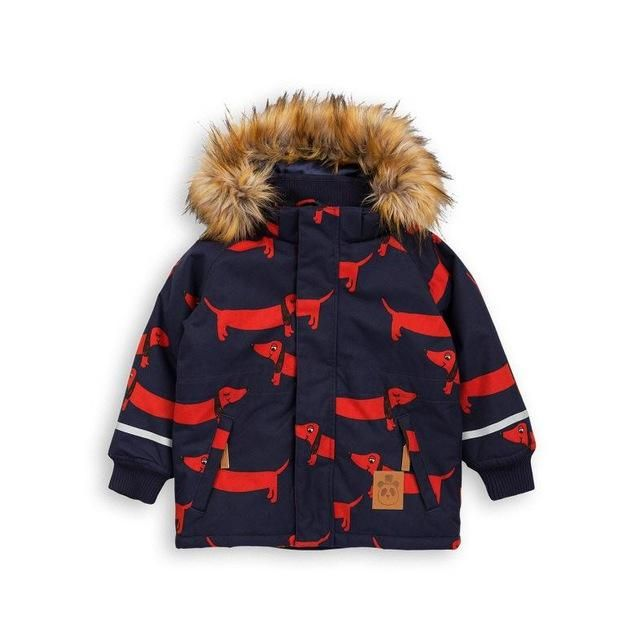 Dachshund Print Winter Coat - Ages 2, 3, 4, 5, 6