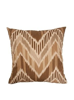 57% OFF The Pillow Collection Aacharya Zigzag Pillow, Mocha