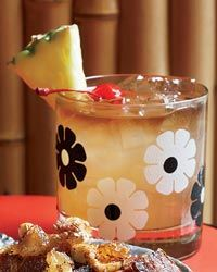 """Mai Tai  The origin of this classic rum cocktail is one of the great debates in tikidom. Both Ernest Beaumont-Gantt (a.k.a. """"Donn Beach,"""" the father of tiki culture) and Trader Vic founder Victor Bergeron lay claim to its invention. This version borrows from Beaumont-Gantt's recipe, which adds dashes of Pernod and Angostura bitters for complexity: Rum Cocktails, From Sea, Classic Cocktails, Cocktail Recipes, Cocktail Parties, Classic Rum, Cocktails Parties, Tai Recipes, Tiki Cocktails"""