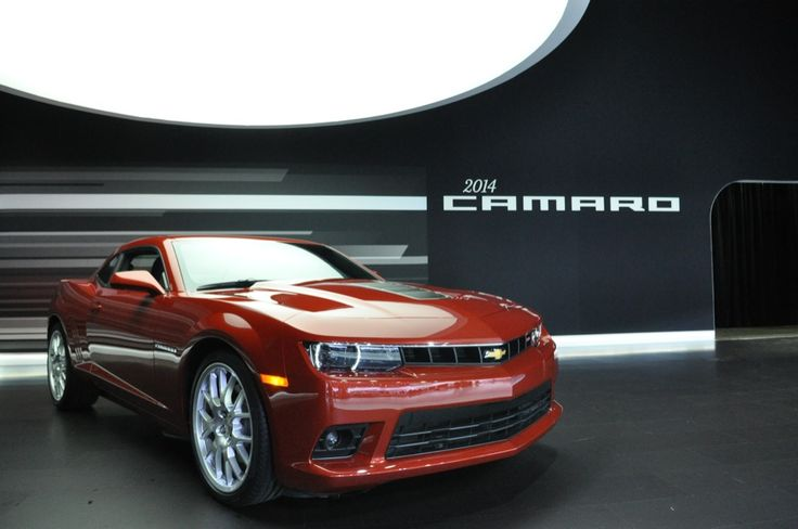 2014 camaro | 2014 Camaro Revealed By Chevrolet During 2013 New York Auto Show | GM ...