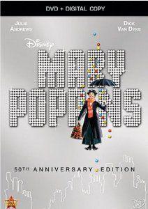 Amazon.com: Mary Poppins: 50th Anniversary Edition (DVD + Digital Copy): Julie Andrews, Dick Van Dyke, Ed Wynn, Hermione Baddeley, Karen Dot...