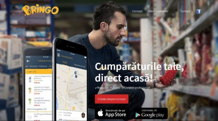 Carrefour a cumpărat aplicația Bringo