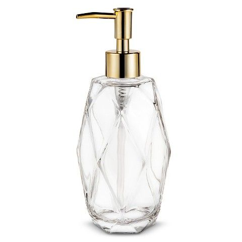 Nate Berkus™ Gem Glass Soap Pump - I don't even have this kind of soap in my bathroom, and I want this D: