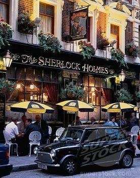 the Sherlock Holmes - London