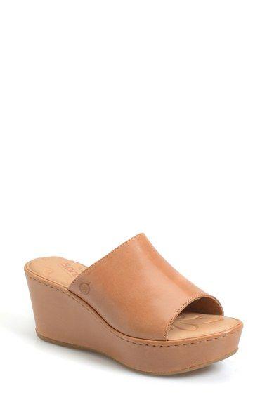B Tilda Platform Wedge Sandal Women