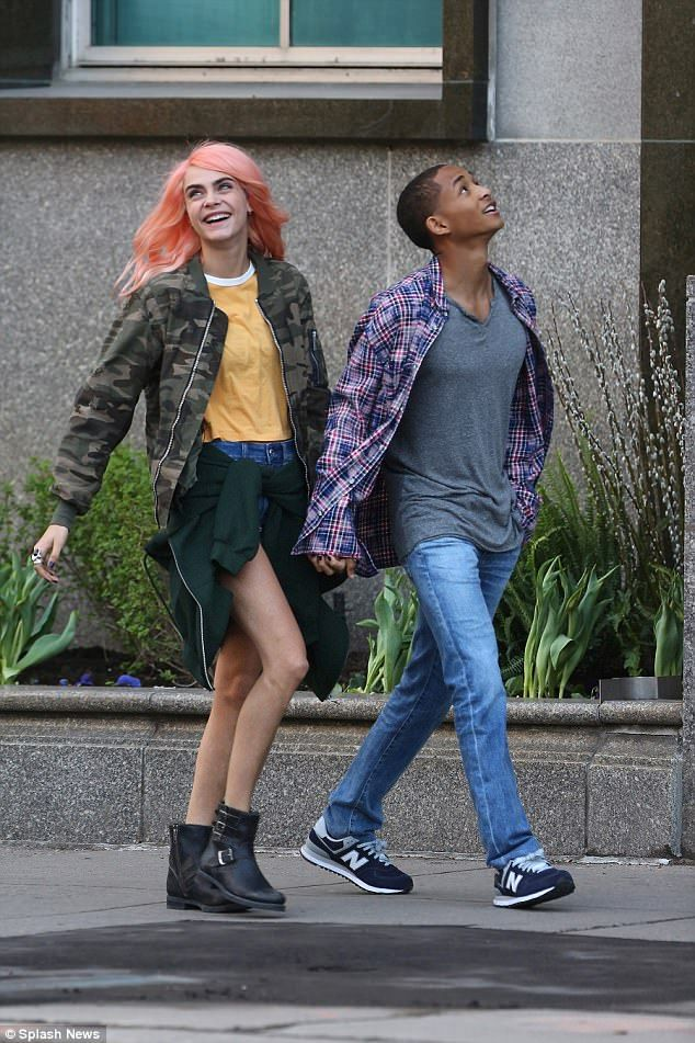 Copy Cara in a camouflage bomber jacket #DailyMail  Click 'Visit' to buy now