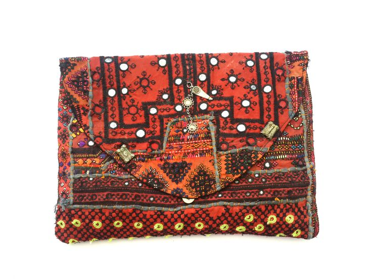 "Laptop Clutch ""Rojo"""
