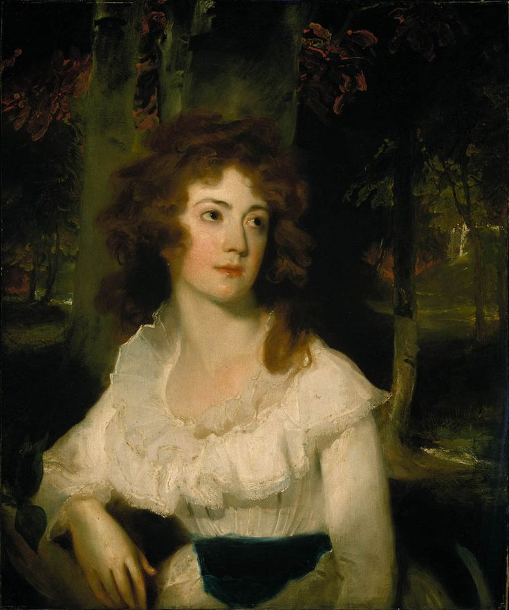 Thomas Lawrence Bristol; Portrait de Mademoiselle Harriet Maria Day, 1789.