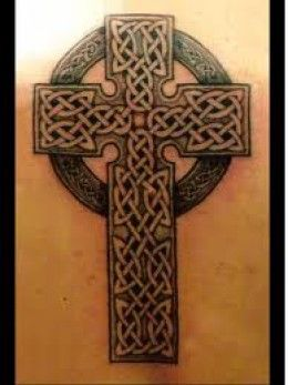 This is an example of the famous Celtic cross.