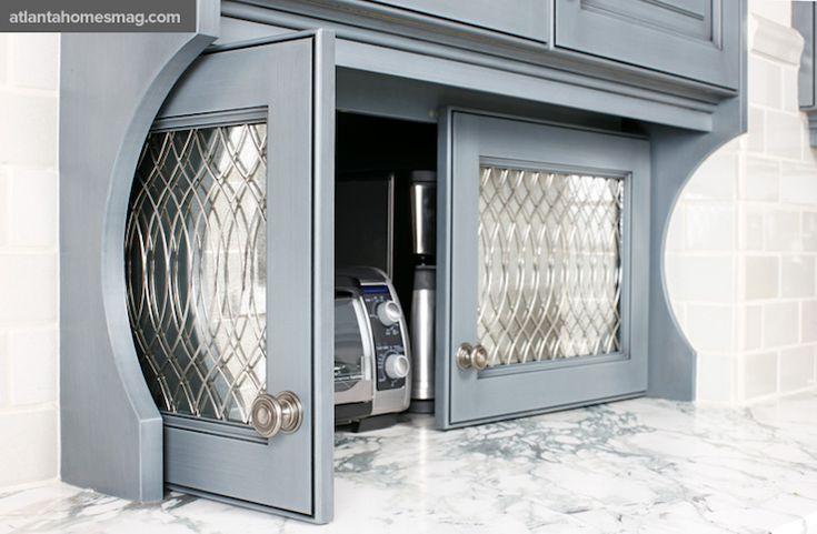 Appliance Garage Closet Cabinets Pinterest