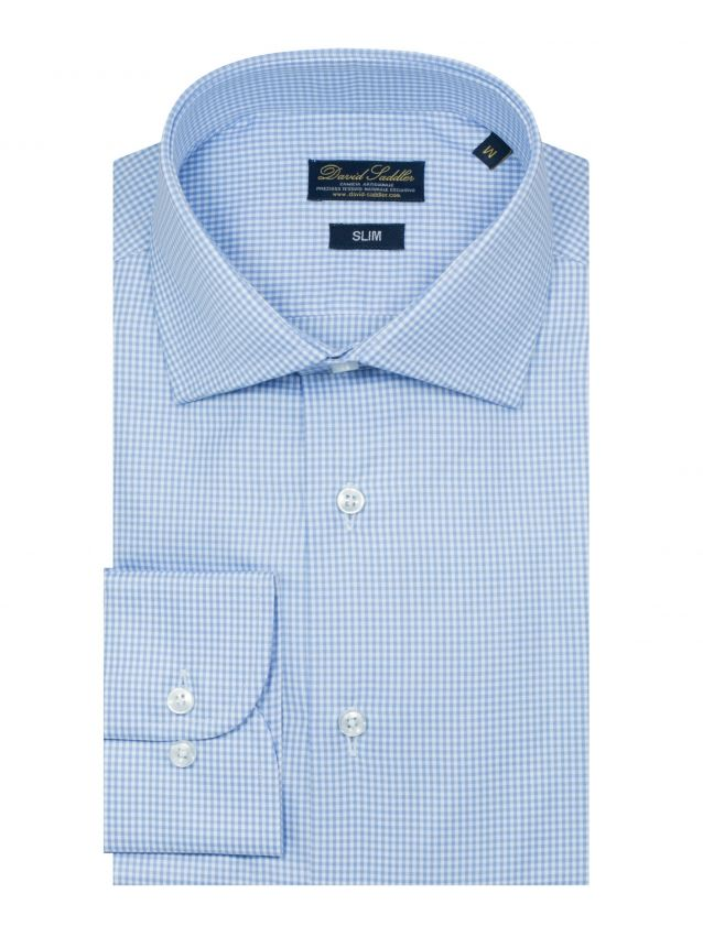 The small checkered shirt Firenze for men is the ideal garment for those who love combining the classic style with modern details. The fine quality Twill fabric, worked with the best craftsmanship, makes the shirt a perfect mix of tradition and modernity.