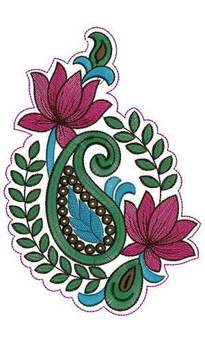 9542 Patch Embroidery Design