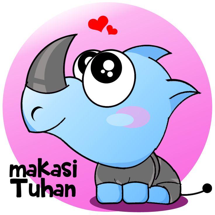 "Chulla ""Si Badak"" karya Kakak Angkatan yg baik. #BBMStiker #BBM #badak #Indonesia #BadakBercula #keren #unyu"