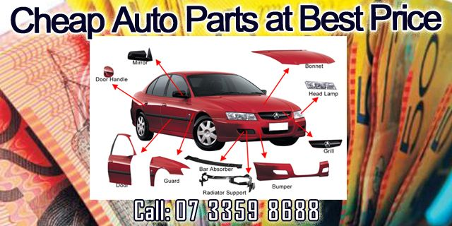 Get Cheap Auto Parts at Best Price.!  We offer cash for car services and also make available spare parts. Contact Us:  07 3359 8688