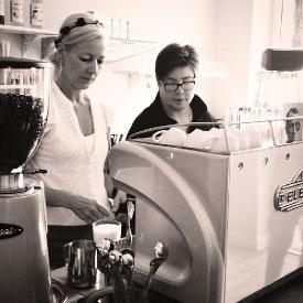 Nice Cafe im Bonn Bad Godesberg Villenviertel mit Kaffee und selbst gebackenem Kuchen