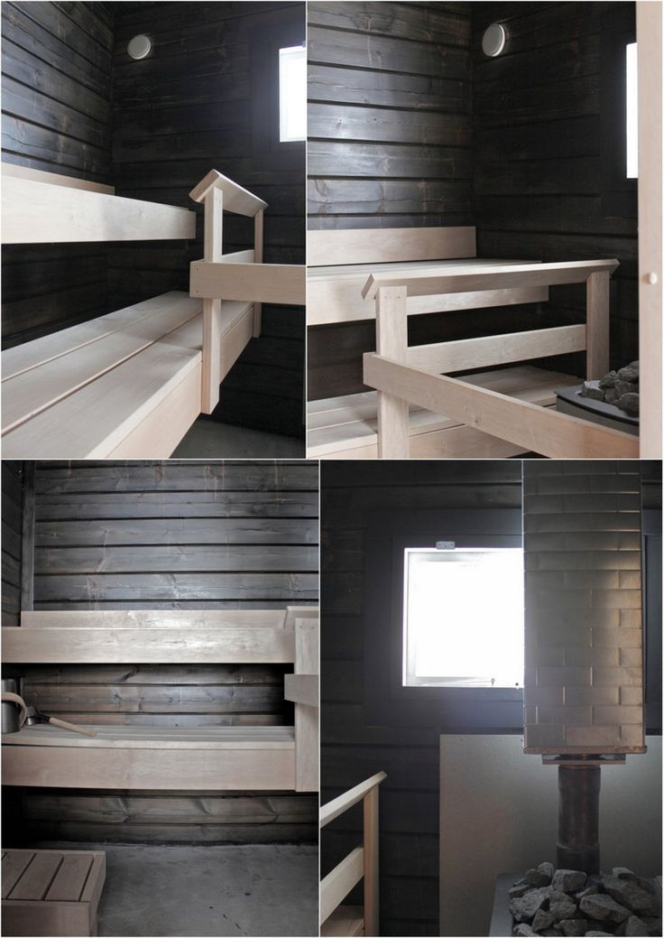 When we bought our summer house last August this tiny seaside sauna was the worst place. Old log walls were spotted, sauna stove was ju...