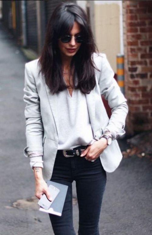 Blazer ceketinizle kombinlerinize biraz farklılık katmak istiyorsanız, ilham alacağınız kombin fikirleri sizleri bekliyor! http://pimood.com/ilkbahar-icin-blazer-ceket-kombinleri/ #moda #stil