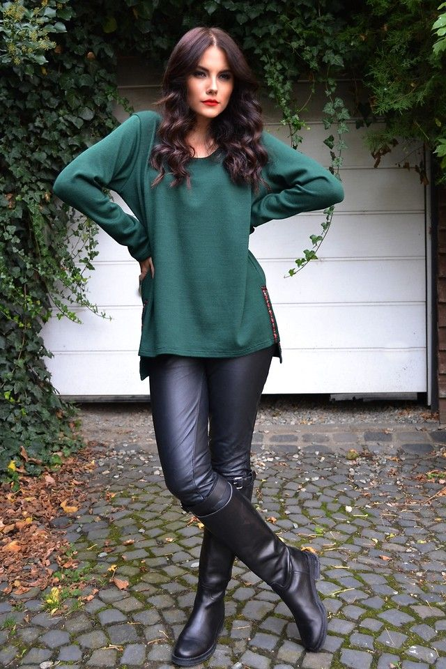 Melor.ro L. - Green Blouse by MELOR