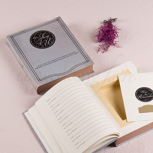 """Story Of Us"" Alternative Guest Book And Box - The Wedding Faire  #guestbook #storyofusbook #storyofusbox #personalisedguestbook #bookandbox #weddingbookandbox #guestbox"