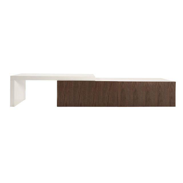 Les 25 meilleures id es concernant meuble tv pivotant sur pinterest glissi - Meuble pour piece mansardee ...