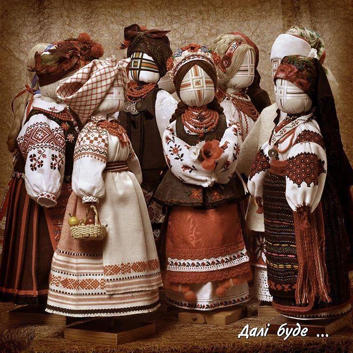 Ukrainian dolls motanki