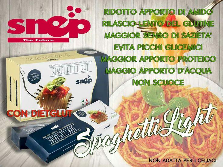 """E' quasi ora di pranzo, perchè rinunciare alla pasta quando c'è """"Spaghetti Light""""? Basta Sensi di colpa, consulta il sito per saperne di più o rivolgiti al tuo incaricato di fiducia. www.mysnep.com"""