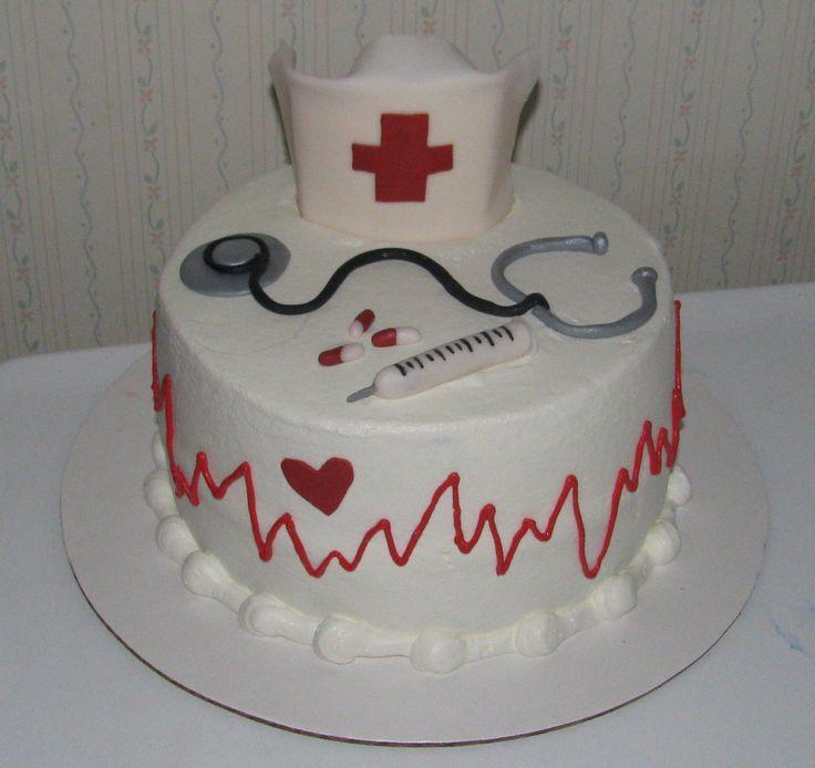 1000+ images about Nurse cake on Pinterest Nurse Cakes ...