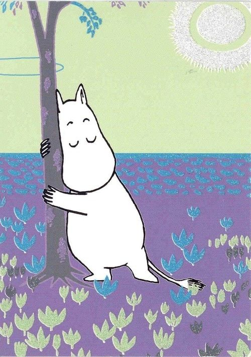 "<b>""I only want to live in peace and plant  potatoes and dream!""</b> The magical Moominvalley of Tove Jansson"