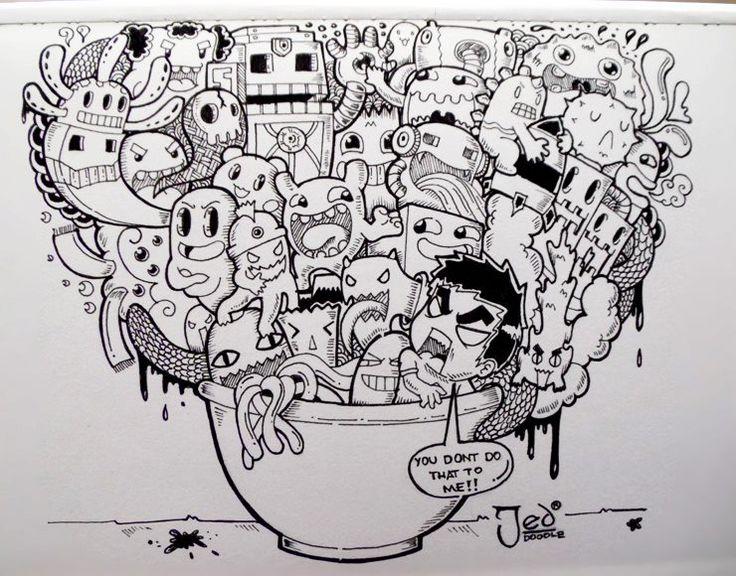 Doodle Cup by DOANGELO by RockyVillaruel.deviantart.com on @deviantART