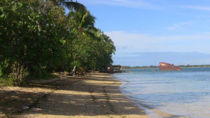 L' #ile de Pangaimotu et son épave, à Tongatapu, #Tonga