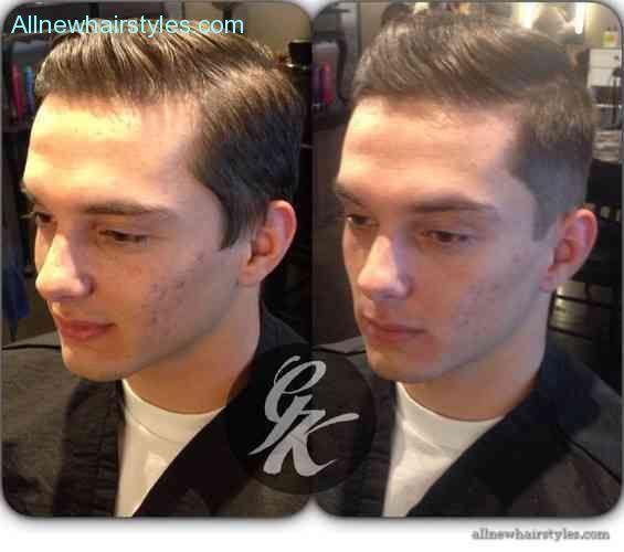 cool Japanese hair straightening for men