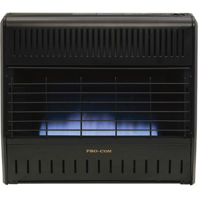 Procom Dual Fuel Vent Free Blue Flame Garage Heater
