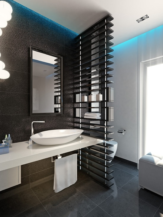 Bathroom Separator Bathroom Design Ideas Small Tiles Wall Narrow - Bathroom separator