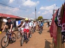 Lebo's Soweto Cycle Tours - Soweto. Fun, safe, unique and eco-friendly. Full day and half day tours with local  experienced guides or self-guided tours. Cycle through tourist attractions and historical landmarks. Ideal for all ages, student groups and corporate teambuilding.