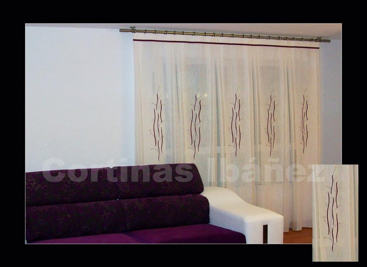 92 best images about cortinas on pinterest pique un and 2 - Confeccion cortinas valencia ...