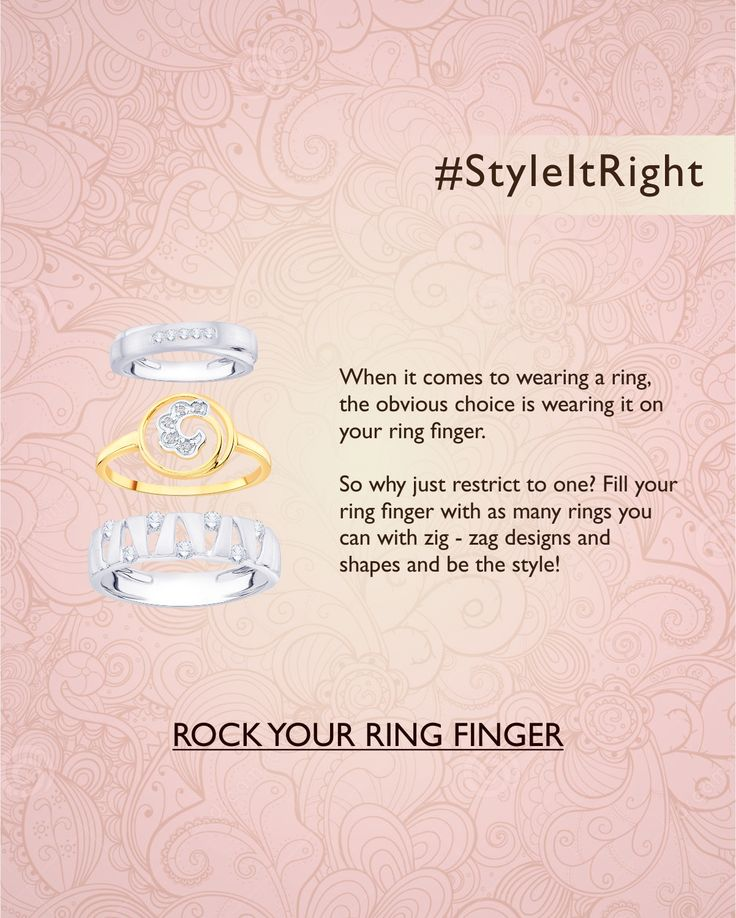 #StyleItRight #Ringstyling #RingFinger #Jewellerystyling #HowToStyleRings #HowToWearRings