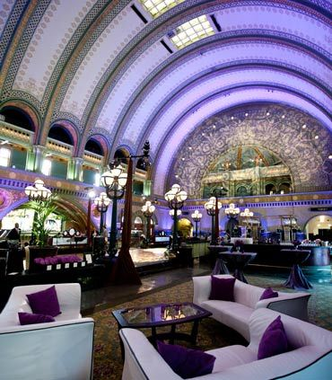 St Louis Wedding Reception Venues Union Station Marriott Photo Gallery