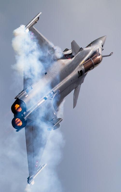 Dassault Rafale C en démo.